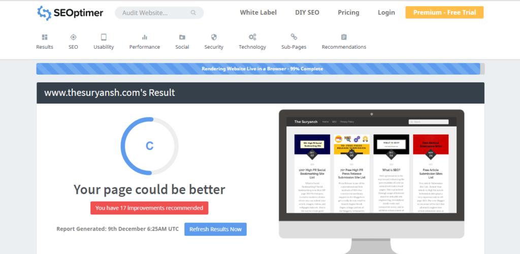 ابزار حسابرسی وب سایت