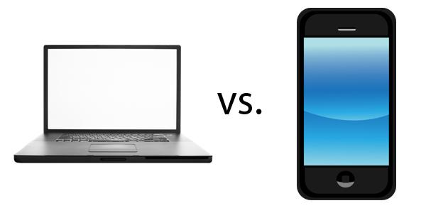 مقایسه سئوی موبایل و کامپیوتر