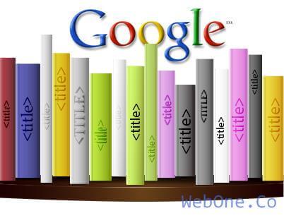 تغییر عنوان سایت در گوگل